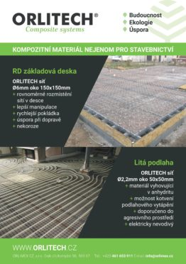 Composites Czech Republic Orlitech New