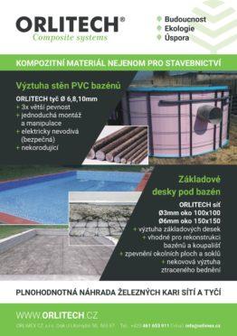 Composites Czech Republic_ORLITECH - leták bazény