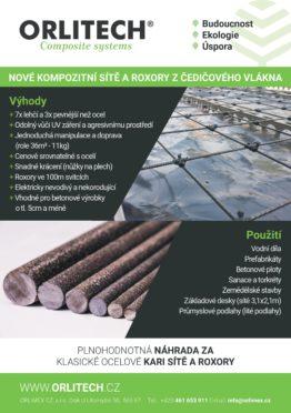 Composites Mesh Czech Republic Orlitech News